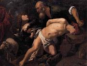 ORRENTE, Pedro The Sacrifice of Isaac oil painting